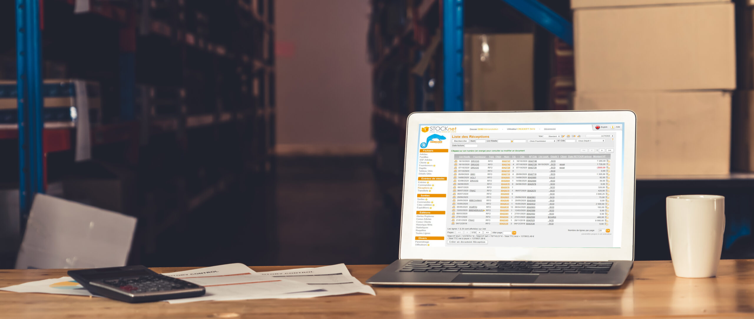 logiciel gestion stocks
